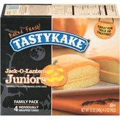 Tastykake Orange Layer Cakes Jack-O-Lantern