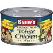 Snow's In Water 98% Fat Free Premium Chunk White Chicken