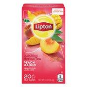 Lipton Herbal Tea Bags Peach Mango