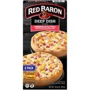 Red Baron Deep Dish Singles Hawaiian Style Deep Dish Singles Hawaiian Style Pizza