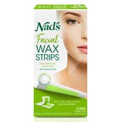 Nad's Facial Wax Strips with Soothing Shea Butter