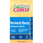 Cabot Cheese, Seriously Sharp Cheddar