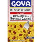 Goya Yellow Rice & Red Beans, Seasoned
