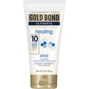 Gold Bond Skin Therapy Cream, Healing, Aloe, Fresh Clean Scent