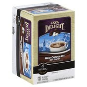Java Delight Hot Cocoa, Milk Chocolate, K-Cup Packs