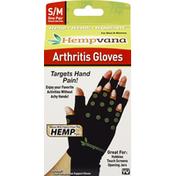 Hempvana Arthritis Gloves, S/M