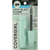 CoverGirl Volume Mascara, Lash Blast Clean, Waterproof, Very Black 825