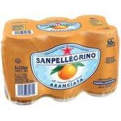San Pellegrino Aranciata 11.15 Oz Sparkling Orange Beverage