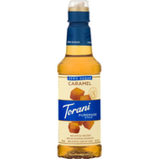 Torani Syrup, Puremade, Zero Sugar, Caramel