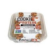 Cookie + Protein Chocolate Chip Cookies
