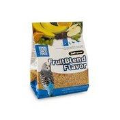 ZuPreem FruitBlend Flavor Premium Bird Food for Parakeets, Budgerigars, Parrotlets & Other Small Parrots