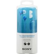 Sony Headphones, Stereo, Blue