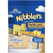 Crystal Farms Nibblers Marble Jack Cheese Cubes