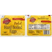 Deb El Eggs, Hard Boiled, Peeled, Medium