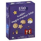 Ella's Kitchen Cracker Bites, Veggie, Toddler (from 1 Year)