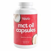 Kiss my Keto Mct Oil Dietary Supplement Softgels