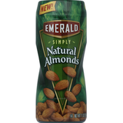 Emerald Supplements Almonds, Simply Natural