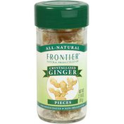 Frontier Natural Products Co-op Frontier Ginger Root Crystallized Select Whole