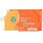 Food Club Mild Cheddar Longhorn Style Cheese
