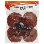 Kingsbridge International Copperized Scour Balls Set, Bag, Pre-Priced