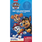Paper Magic Group Valentines with Tattoos, Paw Patrol