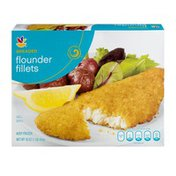 SB Flounder Fillets Breaded