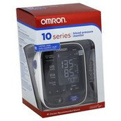 Omron Blood Pressure Monitor, Automatic, Upper Arm, 10 Series