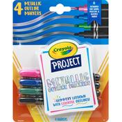 Crayola Outline Markers, Metallic
