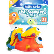 Puddle Winks Fish Squirters Play Set Toys