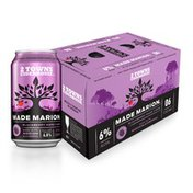 2 Towns Ciderhouse Made Marion 6-Pack - Blackberry Hard Cider