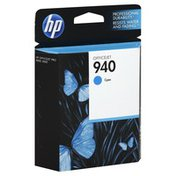 Hewlett Packard Ink Cartridge, OfficeJet, Cyan 940