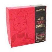 Kika's Treats Salted Crunchy Caramels