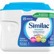 Similac Advance OptiGRO with Iron Similac Advance OptiGRO Infant Formula with Iron