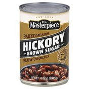 KC Masterpiece Baked Beans, Hickory, Brown Sugar, Slow Cooked