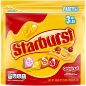 Starburst Original Fruit Chews Candy Party Size Resealable