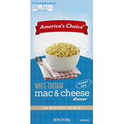 America's Choice Mac & Cheese Dinner, White Cheddar