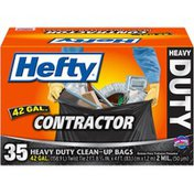Hefty Contractor Heavy Duty 42 Gal. Clean-Up Bags