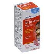 Equaline Ibuprofen, Children's, 100 mg, Oral Suspension, Bubble Gum Flavor