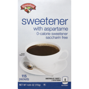 Hannaford Aspartame Sweetener Packets