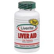 Liverite Liver Aid, Tablets, Value Size
