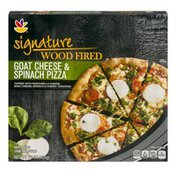 SB Signature Wood Fired Pizza Goat Cheese & Spinach
