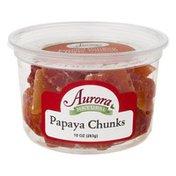 Aurora Natural Papaya Chunnks