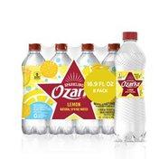 Ozarka Sparkling Water, Lively Lemon