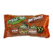 Hot Tamales Mike and Ike Original Fruit Candies & Hot Tamales Cinnamon Candies 35 Snack Size Packs
