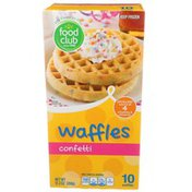 Food Club Confetti Waffles