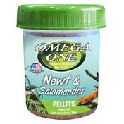 Omega One Newt & Salamander Pellets Sinking