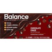 Balance Bar Nutrition Bar, Chocolate Craze