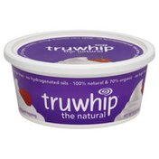 Truwhip Gluten Free, Natural, Whipped Topping, Tub