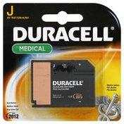 Duracell Battery, Alkaline, J