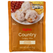 Hy-Vee Sausage Flavored Country Gravy Mix